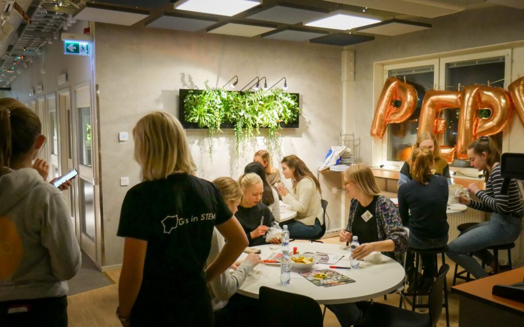 Pepp lockar tjejer till teknik på East Sweden Game