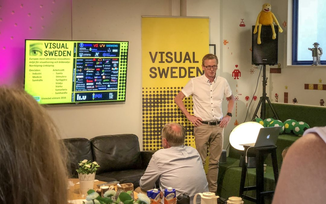 Frukost med Visual Sweden