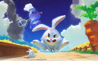 Pugstorm släpper Radical Rabbit Stew till Switch, Playstation, Xbox och PC tillsammans med den brittiska spelförläggaren Sold Out