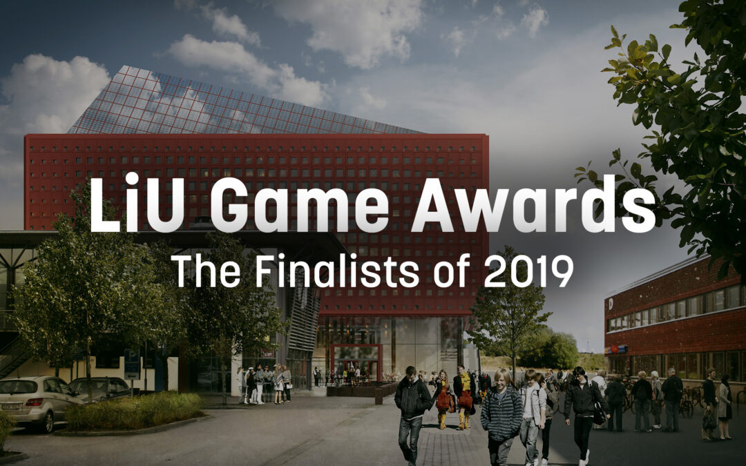 Finalister i LiU Game Awards 2019
