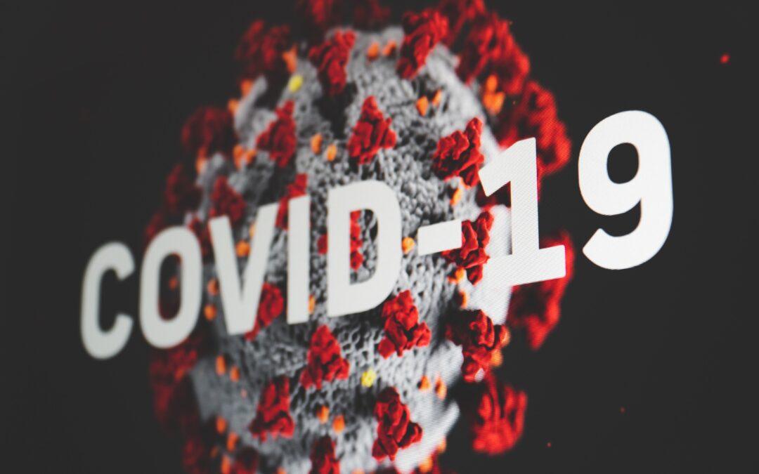 Med anledning av viruspandemin