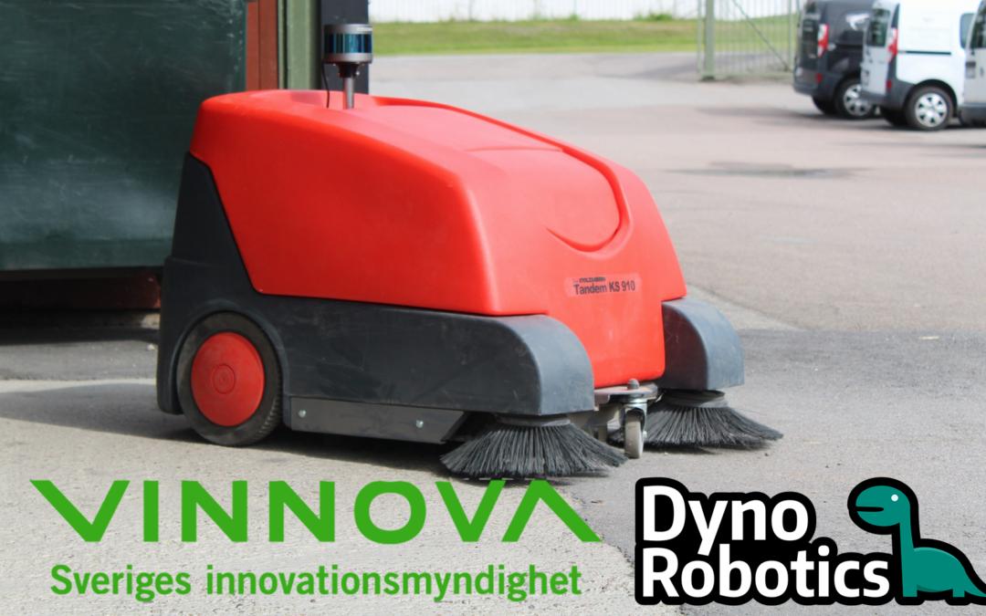 Vinnova-stöd till självgående städrobot