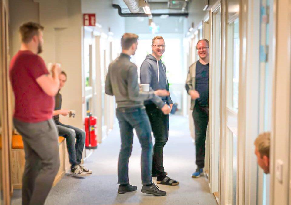 Fullbokat på ESG Office Space