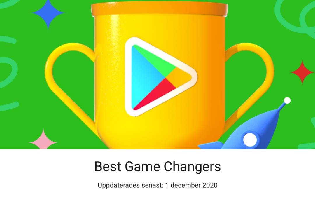 Fancade vinner 'Best Game Changers' av Google Play