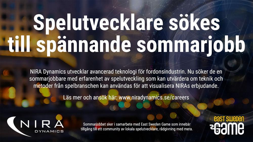 Sommarjobb på NIRA Dynamics